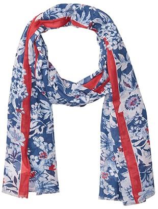 Lauren Ralph Lauren Leslie (Shibori Blue) Scarves