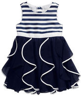 Sweet Heart Rose Sweetheart Rose Girls 2-6x Nautical Party Dress