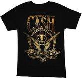 Zion Rootswear Men's Johnny Cash Guns To Town T-Shirt