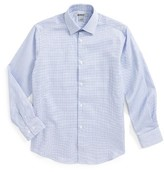 DKNY Boy's Basket Weave Dress Shirt