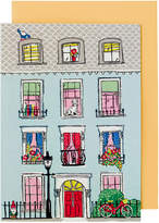 Cath Kidston Billie'S Town House Greetings Card