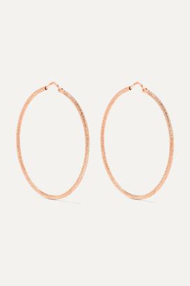 Carolina Bucci Mirador 18-karat Rose Gold Hoop Earrings