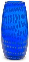 Mikasa Cobalt 9 1/2 inch Cofetti Vase