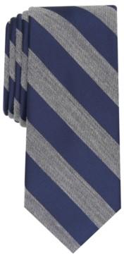 Bar III Men's Meadow Skinny Textured Stripe Tie, Created for Macy's