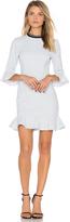 Rebecca Vallance Billie Flare Mini Dress