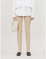 Joseph High-rise stretch-gabardine leggings