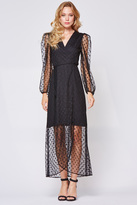 Yumi Kim Wicked Game Wrap Maxi Dress
