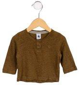 Petit Bateau Boys' Long Sleeve Crew Neck Shirt