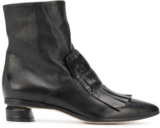 Officine Creative Soizic fringed ankle boots