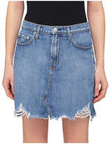 Nobody Denim PIPER SKIRT WITH EYELET DETAIL