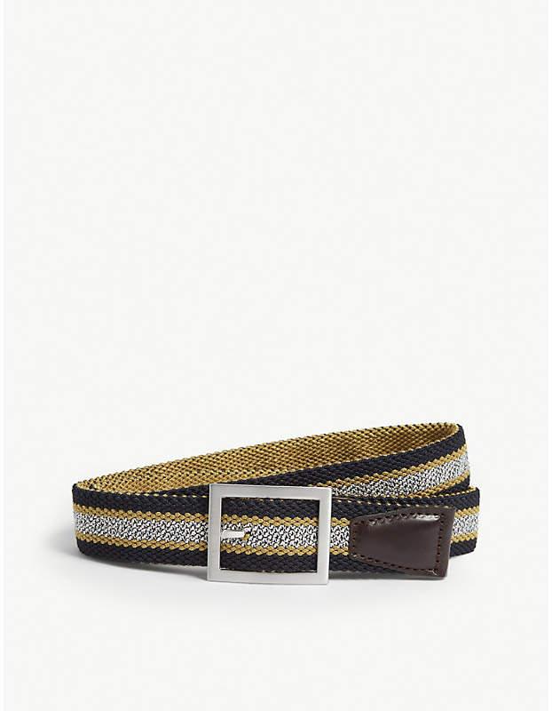 Ted Baker Striped reversible belt