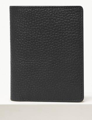 Marks and Spencer Leather Bi-fold Cardsafe Wallet