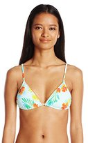 Hobie Women's Tropical Locales Triangle Bikini Top