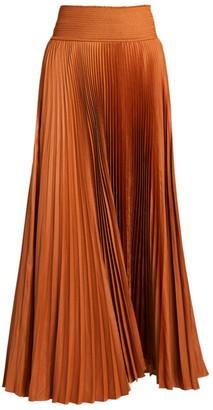 A.L.C. Demi Pleated Midi Skirt