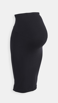 David Lerner Maternity Skirt with Belly Band
