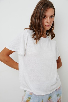 Velvet by Graham & Spencer Annalise Linen Knit Tee