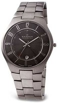Skagen Men's 801XLTXM Titanium Collection Black Dial Watch