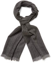Hickey Freeman Men's Long Wool Scarf