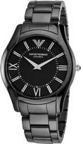 Emporio Armani Men's AR1440 CeramicSlim Dial Watch