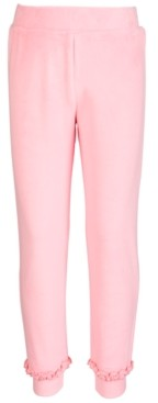 Ideology Toddler & Little Girls Velour Jogger Pants, Created for Macy's