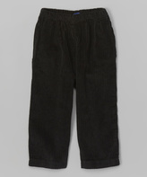 Flap Happy Black Corduroy Pants - Infant, Toddler & Boys