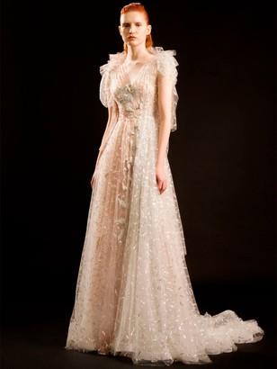 Sandra Mansour LILY EMBELLISHED TECHNO DRESS