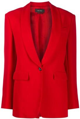 Isabel Marant Shawl-Lapel Tailored Blazer
