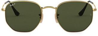 Ray-Ban 51MM Irregular Round Sunglasses