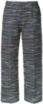 Coohem lightweight knit cropped trousers