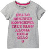 True Religion Hello Tee (Toddler & Little Girls)