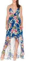 LA Roxx Floral Maxi Dress