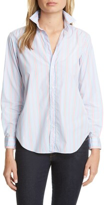 Frank And Eileen Multi Stripe Button-Up Shirt