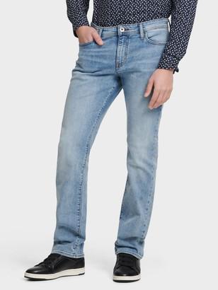 DKNY Men's Slim Straight Jeans - Karma Light Wash - Size 38x32