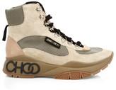 Jimmy Choo Inca Patchwork Platform Hiking Boots