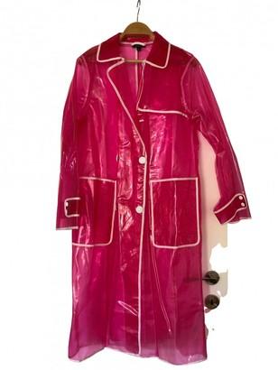 Topshop Tophop Pink Coat for Women