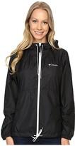 Columbia Flash Forwardtm Windbreaker (Black Matte) Women's Jacket
