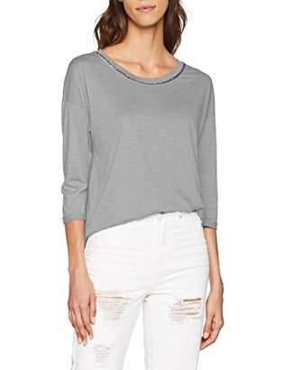 S'Oliver Women's 21.808.39.8333 T-Shirt, (Grey Blend 9400)