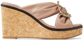 Jimmy Choo Nevara 90mm wedge sandals