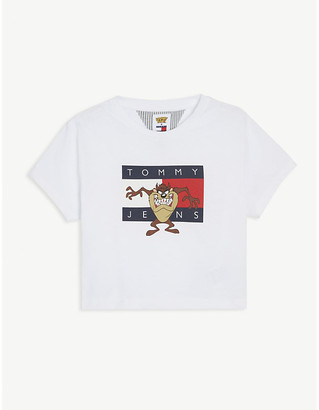 Tommy Hilfiger Tommy Jeans x Looney Tunes cotton cropped T-shirt 4-12 years
