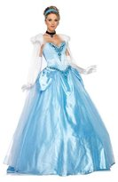 Leg Avenue Disney 6Pc. Deluxe Princess Cinderella Dress Cape Crown Head Piece