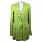 Escada Green Cotton Jacket for Women
