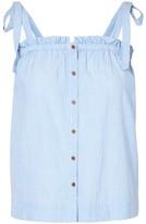 Vero Moda Striped Blouse with Shoestring Straps