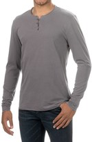 Threads 4 Thought Pigment-Dyed Henley Shirt - Organic Cotton, Long Sleeve (For Men)