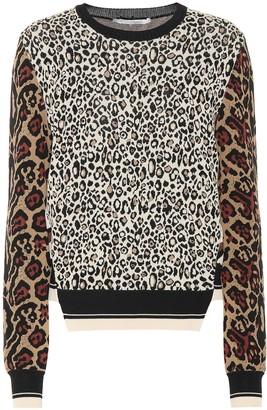 Stella McCartney Exclusive to Mytheresa Animal-jacquard sweater