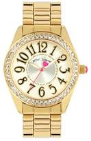 Betsey Johnson Women's What a Hoot Crystal Embellished Watch, 40mm
