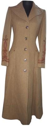 Ralph Lauren Brown Wool Coat for Women Vintage