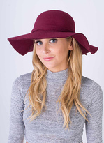 Missy Empire SP Wine Floppy Hat