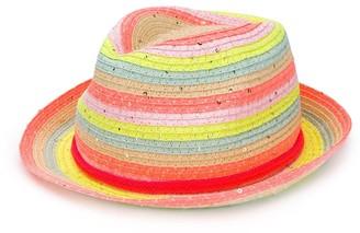 Billieblush Striped Sun Hat