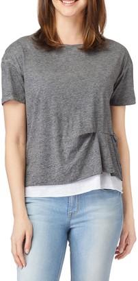 C&C California Riley Salt Wash Double Layer T-Shirt