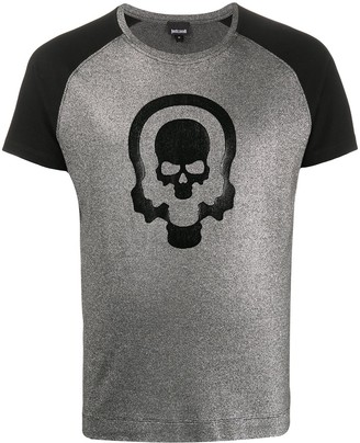 Just Cavalli skull print crew neck T-shirt